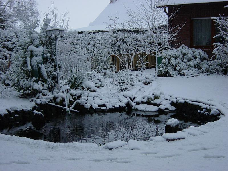 Thema anzeigen teiche im winter for Koi teich winter